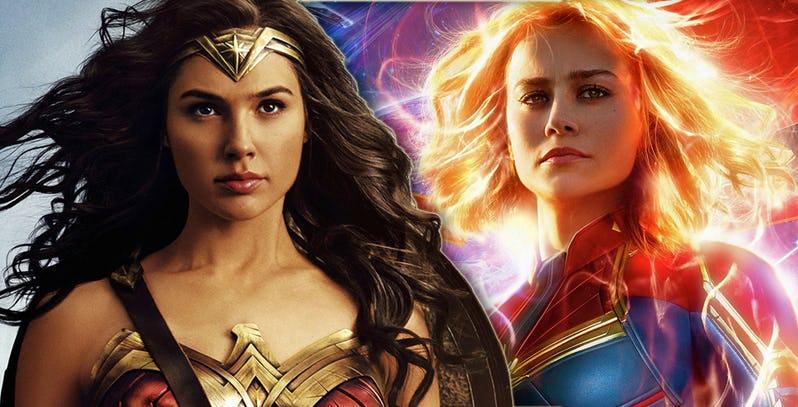 <em>Captain Marvel</em>'s Failures Demonstrate the High Watermark Set by <em>Wonder Woman</em>